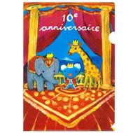 クリアファイル(10周年原画) 商品画像