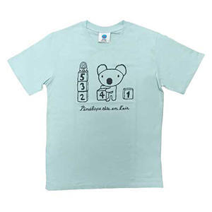 天竺ペネロペプリント半袖Tシャツ-A