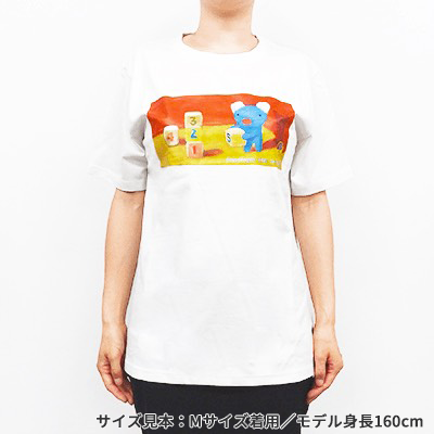 天竺ペネロペプリント半袖Tシャツ-A 商品画像