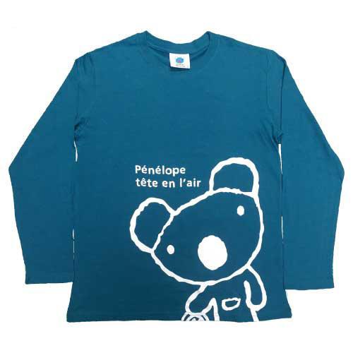 天竺ペネロペプリント長袖Tシャツ-B