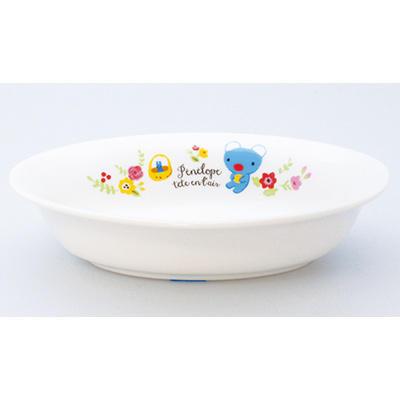 ペネロペフラワー カレー皿 商品画像