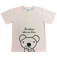 吸汗速乾ペネロペプリント半袖Tシャツ-B