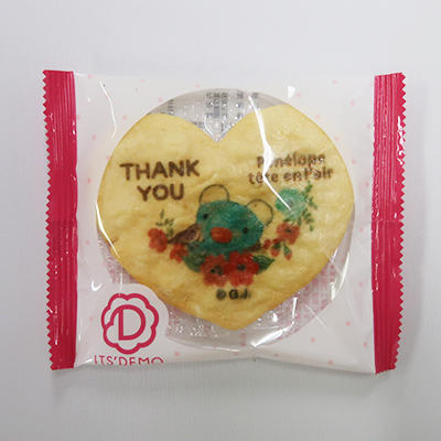 ハートせんべい(THANK YOU、おめでとう) 商品画像